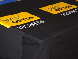ITK produces custom table runners for Optus conference