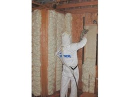 Icynene soft spray foam insulation system available from ERA Polymers
