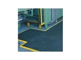 Industrial rubber matting available from Novaproducts Global