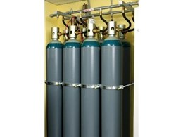 Inergen fire suppressant gaseous system from Wormald