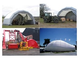 Inflatable Modular Buildings from Giant Inflatables
