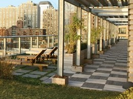 Innowood helps turn high rise building rooftops into Green living spaces
