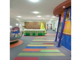 InterfaceFLOR bring shapes and colour to Cabrini Hospital with new children's centre flooring design