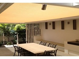 Issey retractable sun roof shades Queensland al fresco patio