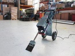 Jackhammer Trolley from Makinex redesigned for simple floor removal