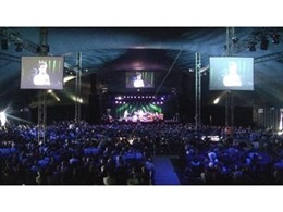 Jands Vista lighting control consoles and dimmers used for Port Fairy Folk Festival