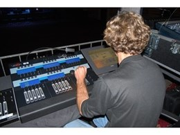Jands Vista lighting control system used for Crowded House world tour