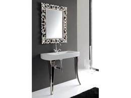Jazz Console 91 bathroom basins from Just Bathroomware make a statement
