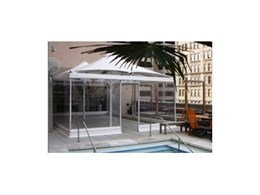 Joule Hotel, Dallas opts for Heatray CR53 weatherproof umbrellas from Celmec
