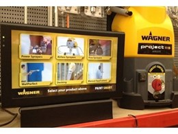 Just Digital Signage supplies touchscreen solutions to Wagner Australia