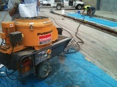 Kennards Concrete Care now offers grout mixer pumps for hire