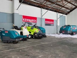 Kennards Hire Concrete Care extends support to Ausclean 2014