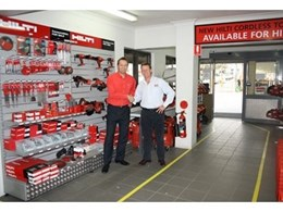Kennards Hire and Hilti construct a partnership