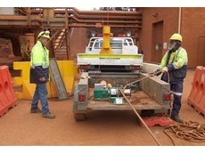 Kennards Lift & Shift's Greenlee electric capstan winches used for major cable laying project