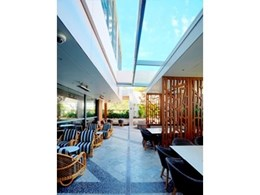 Kennovations installs retrofit retractable glass roof at Hornsby RSL