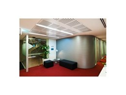 Keystone Linings install Key-Eclipse acoustic panels at Montgomery Suites