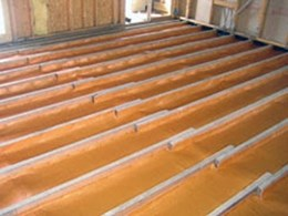 Kingspan's Permifloor insulation leads the field for fastest installation