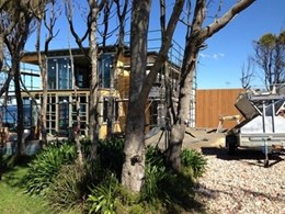 Kingwood external cladding meets specifications for architect's home