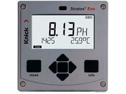 Knick Stratos Evo 2-channel process analyser supports any Memosens probe