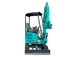 Kobelco introduces new mini excavators for trades and rental market