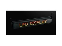 LED displays from Coolon LED Lighting get the message across