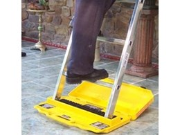Ladder M8rix pro plus anti slip device from European Building Innovations