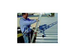 Laddermate ladder bracket from Safemaster Height Safety Solutions