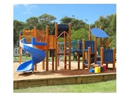 Lake Tabourie Holiday Park installs playground equipment from Moduplay Commercial Play Systems