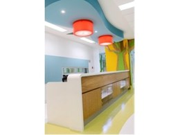 Laminex products bring fun to Adelaide hospital children's ward