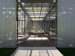Laminex to partner in 2014 MPavilion temporary architecture project