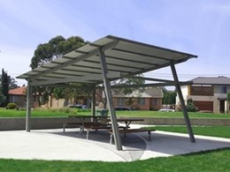Landmark Products customises durable shelter for Heffron Park community