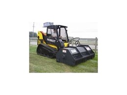 Landscape rakes, mowers and brush shredders from Recycle & Composting Equipment