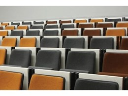 Lecture theatre seating solution from Effuzi International