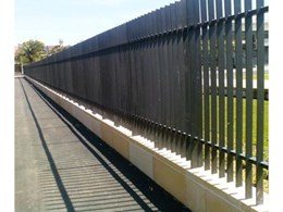 Leda-Vannaclip's steel fencing and gates at Redfern