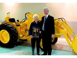 Legendary CASE loader/backhoe designer inducted into Construction Equipment Hall of Fame