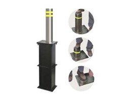 Lift assisted retractable bollards now available from Image Bollards