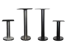 Lindsay Wilson Concepts now stocking bolt down table bases for cafes and restaurants