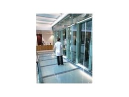 Litelfam fire resistant glass floor systems from Smoke Control