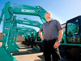 Loadex Hire keeps healthy bottom-line with excavators from Kobelco