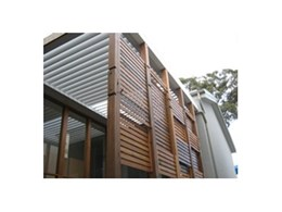 Louvre roof system from Vergola (NSW) selected for Eco Challenge