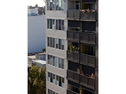 Louvre windows installed in Camperdown Public Housing project