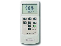 Lutron dual function pH meter from ADM maximises accuracy