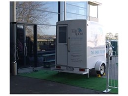 Luxury portable bathroom hire for conference venues from Rent A Bathroom