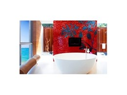 Luxury stone bathware from Apaiser Bathware featured in the W Retreat-Koh Samui in Thailand