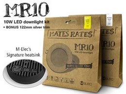 M-Elec goes with green packaging design for LED downlights