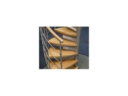 Mac steel spiral staircases from Enzie Stairs