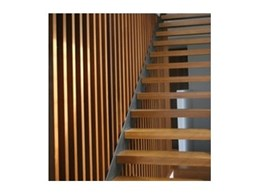 Machined recycled timber for posts, beams, and stairs from Australian Architectural Hardwoods