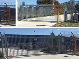 Magnetic Automation installs light curtains on cantilever gate at high security facility