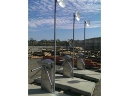 Magnetic installs MPP pedestrian turnstiles at gas plant construction site