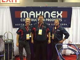 Makinex launches innovative construction products in USA